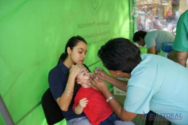 Por el alerta de poliomielitis instan a reforzar la vacunación