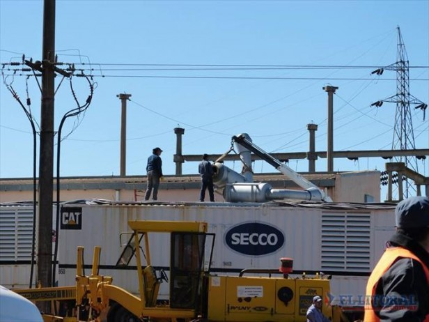 Virasoro: prueban el nuevo transformador y llegaron más generadores para las industrias