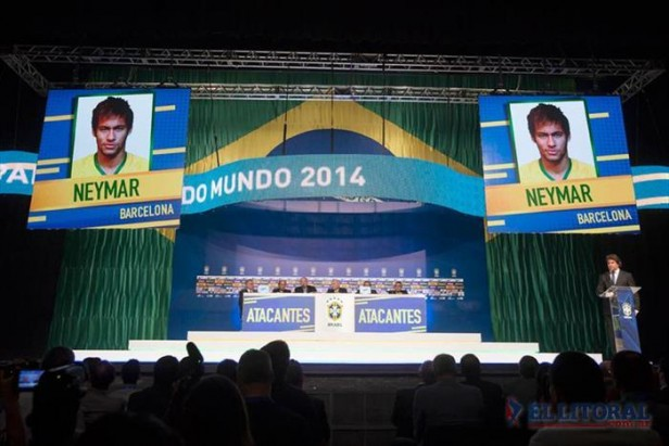 Luiz Felipe Scolari dio la lista para el Mundial Brasil 2014: no están Kaká ni Ronaldinho