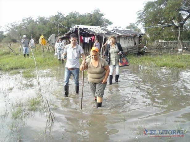 Goya: continúan 100 familias afectadas por inundación y preparan mejora de terrenos