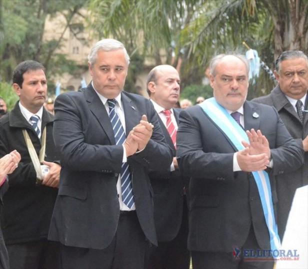 Ricardo y Fabián, juntos por protocolo