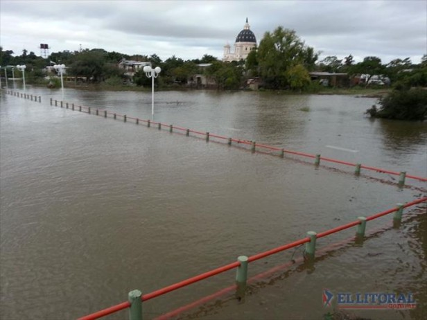 Para evitar inundaciones, Itatí gestiona desagües