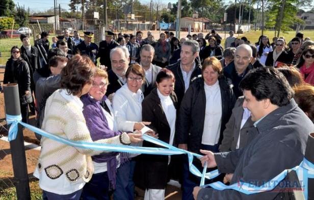 Colombi habilitó una carrera terciaria y un Caps, y confirmó dos escuelas nuevas y 200 viviendas