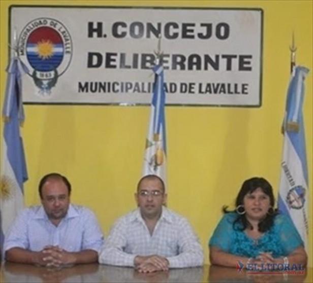 Lavalle: tres ediles renunciaron a su sueldo y los fondos irán al Ejecutivo