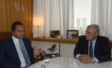 Fabián Ríos recibirá a Jorge Capitanich y a Daniel Scioli