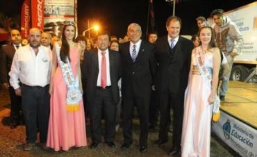 Con la apertura de la Expo se inauguró anoche la 39ª Fiesta Nacional del Surubí