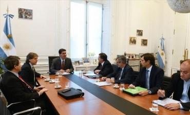 Para acelerar el desembolso de fondos Vaz Torres se reúne con Capitanich