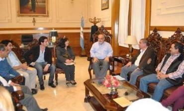 Reunión por la fortaleza institucional de estados