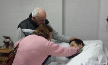 """Los padres de """"Wilson"""" cruzaron la frontera para reencontrarse con su hijo"""