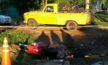 Mercedes: murió motociclista luego de ser atropellado por una camioneta