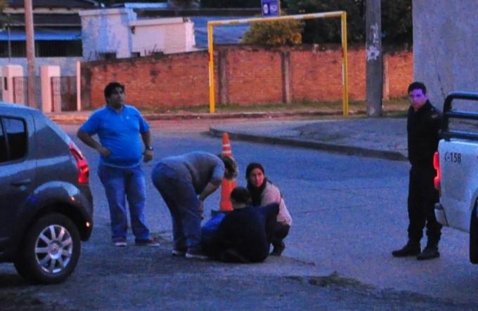 """""""Motochorros"""" lastimaron a una mujer durante un intento de robo"""