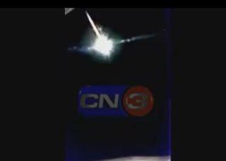 Confirman que un meteorito cayó al mar en Pinamar