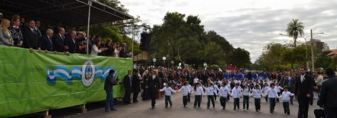 El pueblo correntino celebró con fervor patriótico la gesta de Mayo