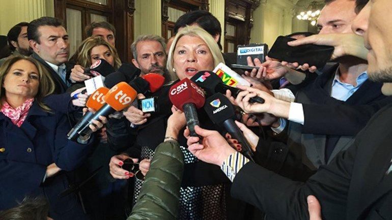 Elisa Carrió dijo que siente  vergüenza ajena de que el Papa no haya recibido a Margarita Barrientos