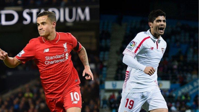 Liverpool y el Sevilla de Éver Banega definirán al campeón