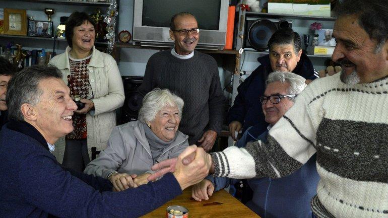 Macri instó al Congreso a que apruebe el pago a jubilados