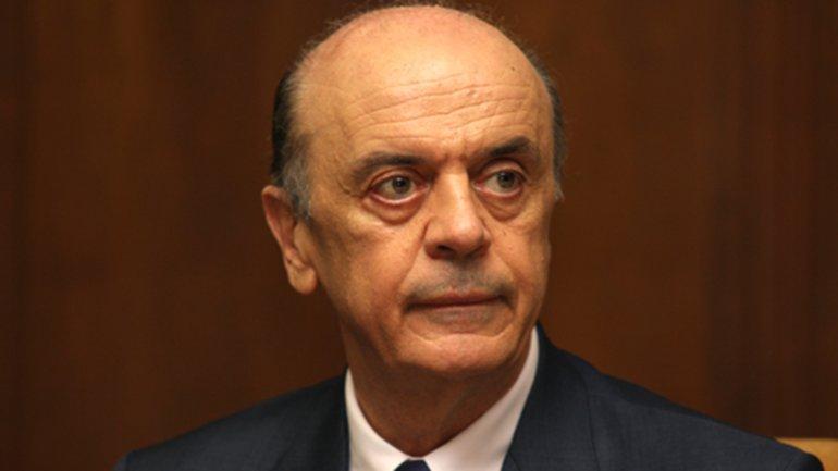 Viaja a la Argentina José Serra, el canciller del nuevo gobierno de Brasil