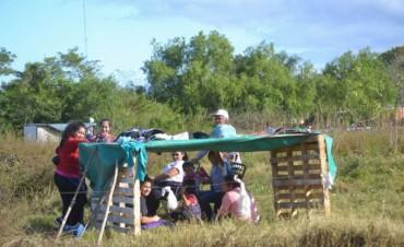 """Terreno usurpado: varios """"avivados"""" intentan vender parcelas tomadas"""