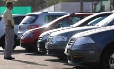 Caída en la venta de autos
