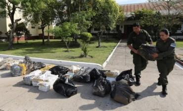 Procesaron a 24 integrantes de una banda narco que tenía su base en Corrientes