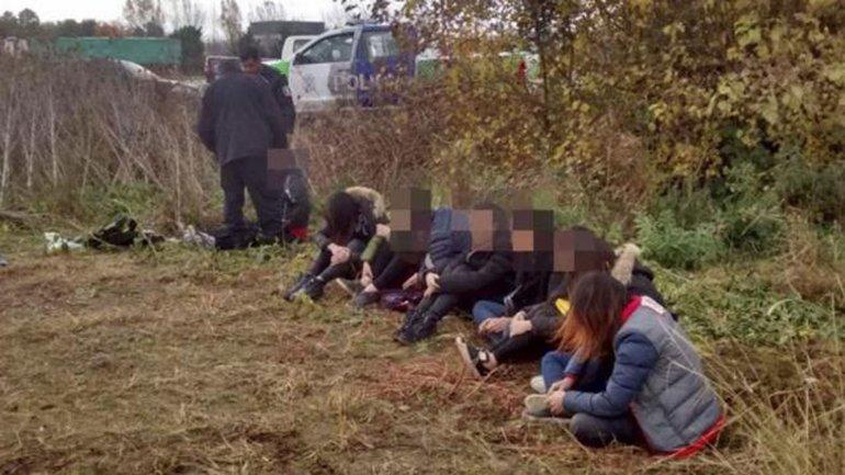 Persecución a una camioneta que ocultaba 8 mujeres chinas