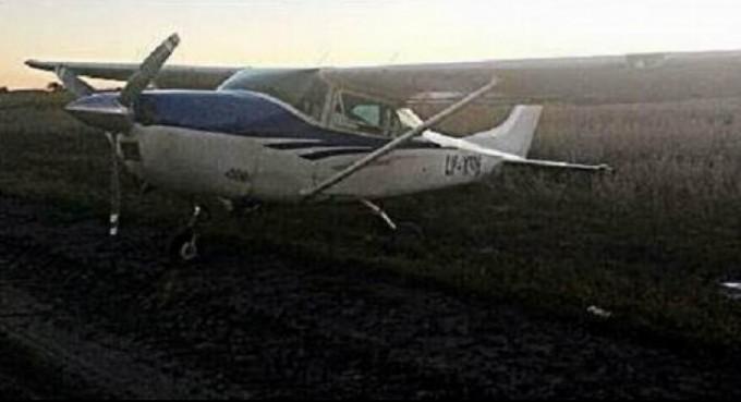 Detuvieron a un brasileño tras aterrizaje de emergencia: llevaba bolsos de dinero