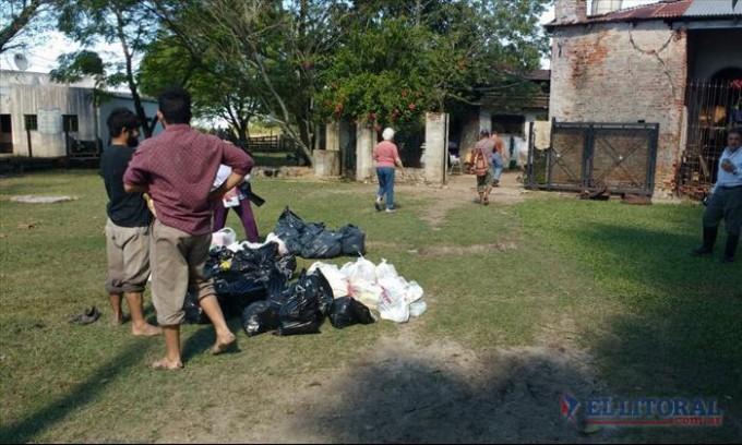 Siguen aumentando los evacuados en San Roque y Santa Lucía y preocupa el clima