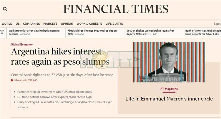 Recomiendan a los inversores extranjeros a dejar la Argentina