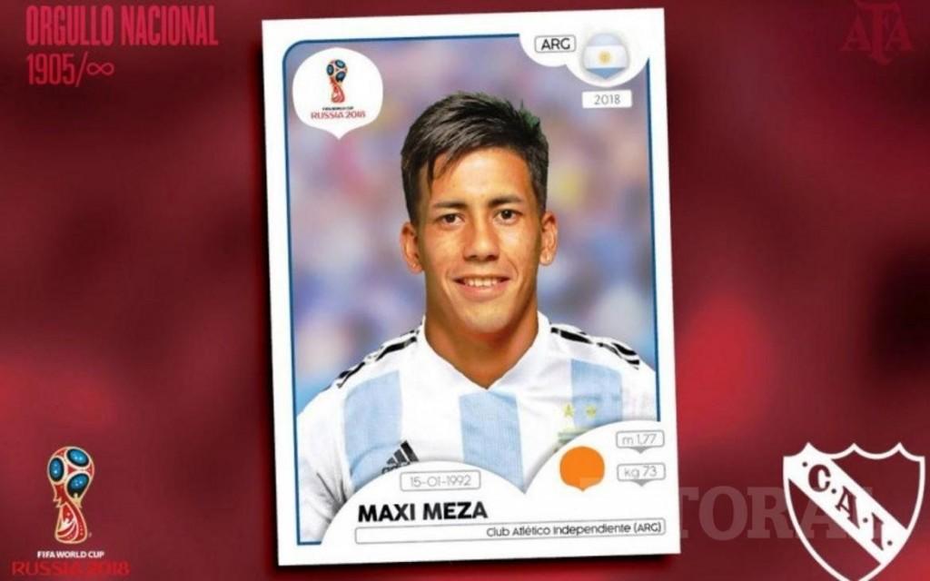 El correntino Maxi Meza fue convocado al Mundial de Rusia