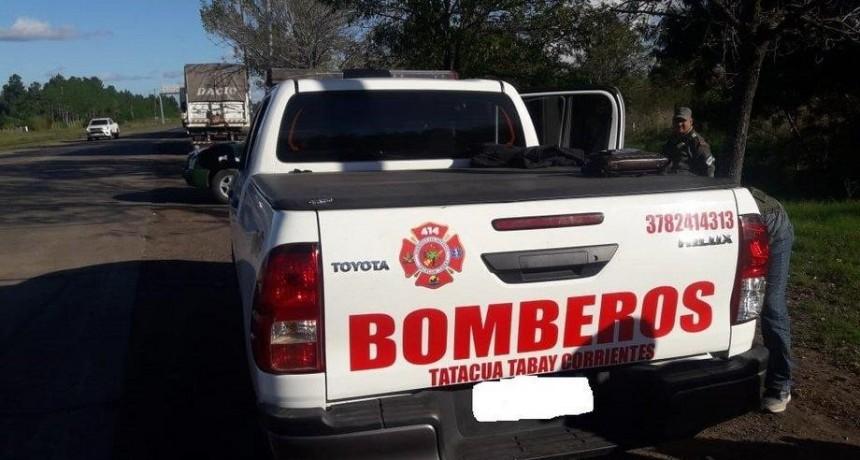Detuvieron al Jefe de Bomberos de Tatacuá - Tabay y secuestraron droga
