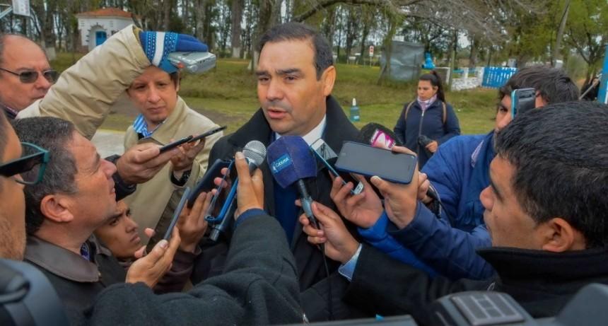 Valdés se traslada a Lavalle para encabezar raid de inauguraciones