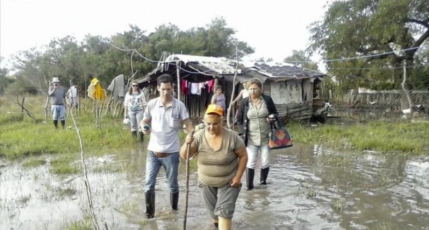 Con más de 300 personas afectadas, Itatí se declaró en emergencia hídrica