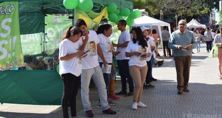 Con actos, caminatas en Capital y el interior, los candidatos le bajan el telón a la campaña de cara las elecciones del domingo