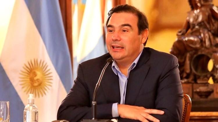 """Gustavo Valdés, gobernador de Corrientes: """"Hay que combinar salud y economía, comenzar a producir y evitar que los comerciantes se fundan"""""""