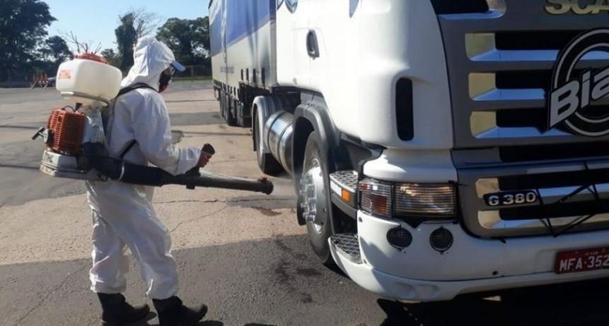 Presentaron protocolo sanitario para conductores de camiones
