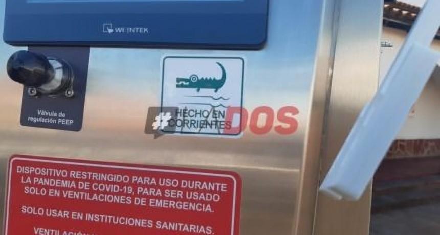 Coronavirus: Valdés destacó la fabricación de respiradores