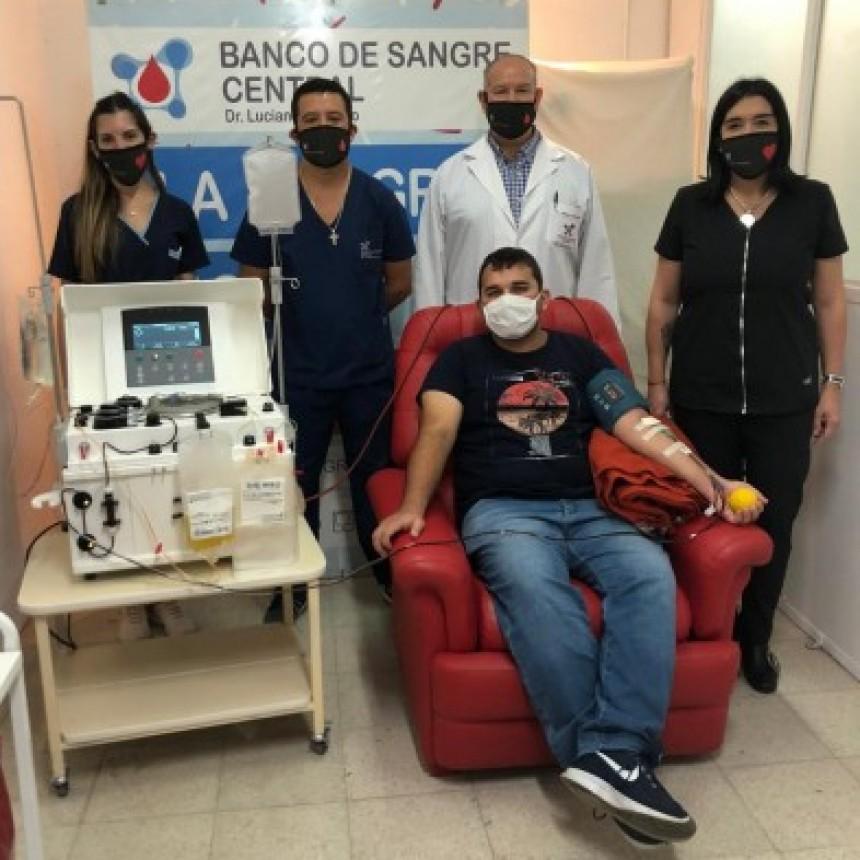 Corrientes: se inició un método terapéutico con pacientes recuperados de COVID-19
