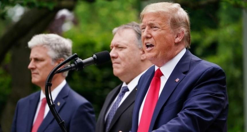 Trump rompe la relación con la OMS debido al