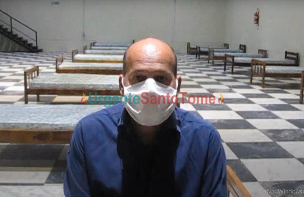 El médico Marcelo Gimenez brindó un panorama «muy crudo» de la situacion sanitaria de Santo Tomé