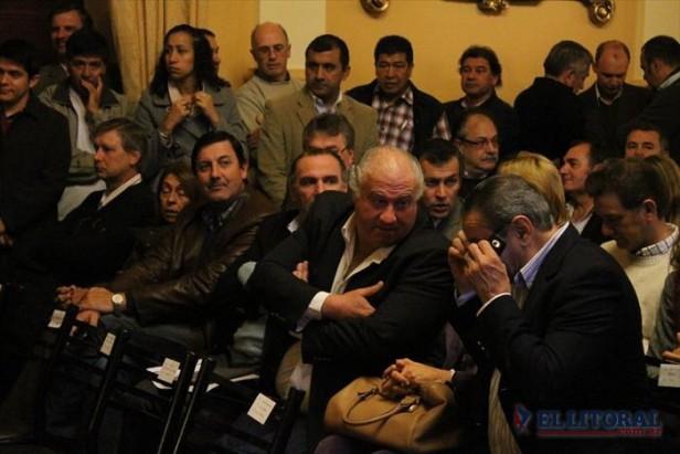 Sergio Flinta llama a fortalecer a los candidatos presidenciables de la UCR