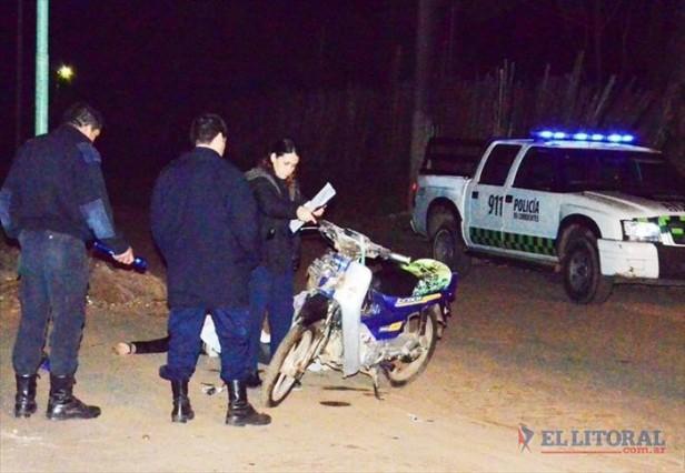 Murió motociclista en Mercedes y suman 100 las víctimas por accidentes viales