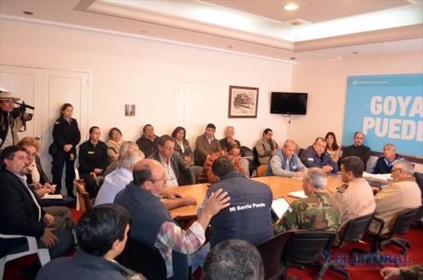 Hoy declararán la emergencia hídrica en Goya, que se alista para la evacuación