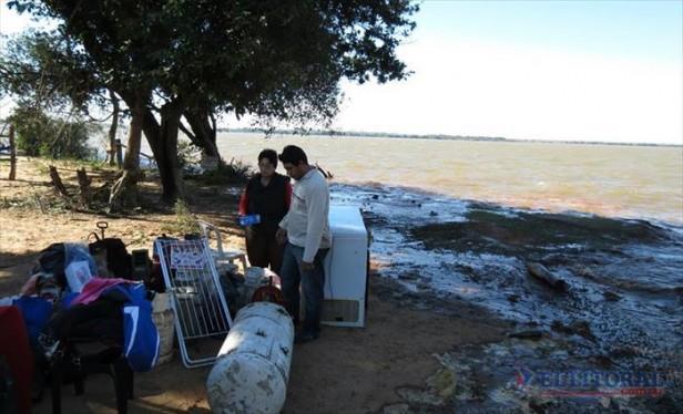 Continúan con las evacuaciones, declararon la emergencia hídrica y evalúan la agropecuaria