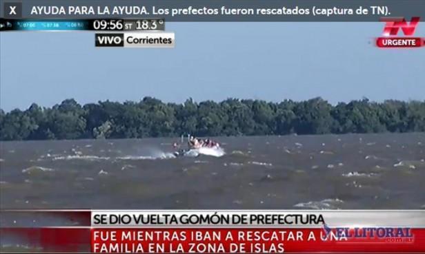 En Apipé e Ituzaingó esperan que baje el río y siguen asistiendo a decenas de damnificados