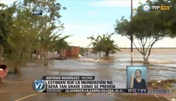 Nacionalización de la situación de familias correntinas afectadas por la creciente