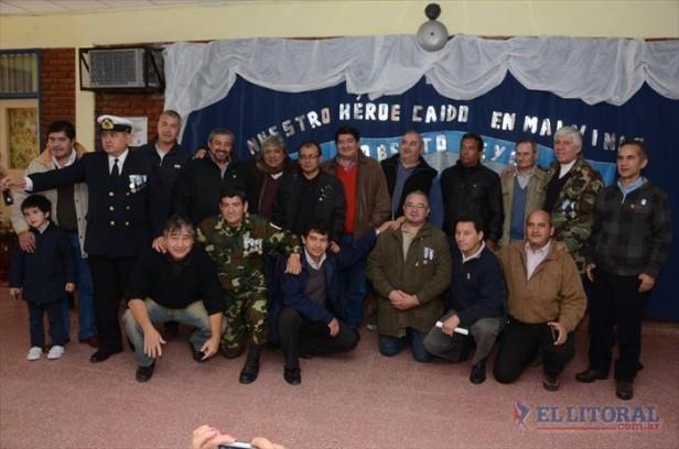 En su escuelita rindieron homenaje al último correntino caído en las Malvinas