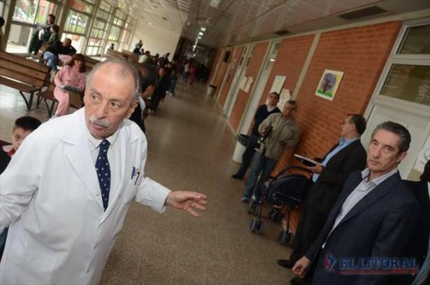 Tras el reclamo por recursos, entregan equipos para el Hospital Pediátrico