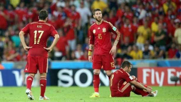 Habrá nuevo campeón: Chile derrotó 2-0 a España y lo eliminó del Mundial