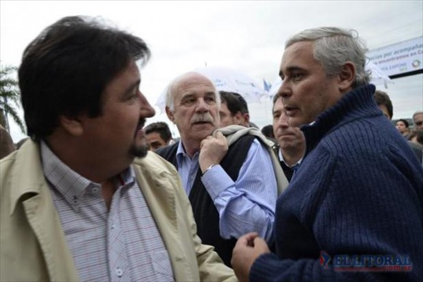Sin Colombi, el peronismo local copó el Inta Expone