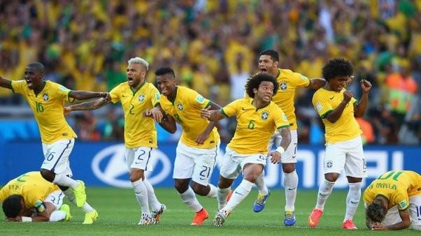 Brasil sufrió ante un Chile digno pero ganó por penales y está en cuartos